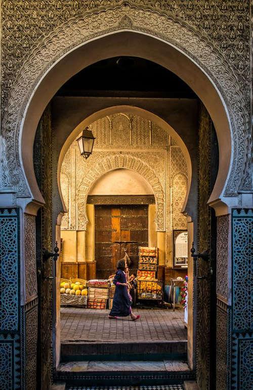 La medina en Marrakech