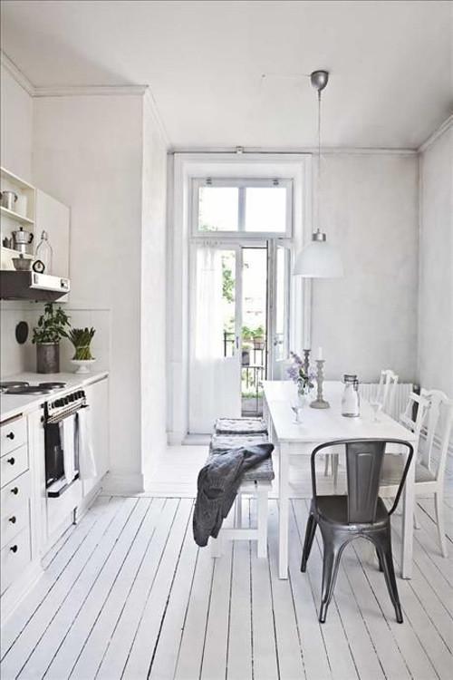cocina comedor escandinava
