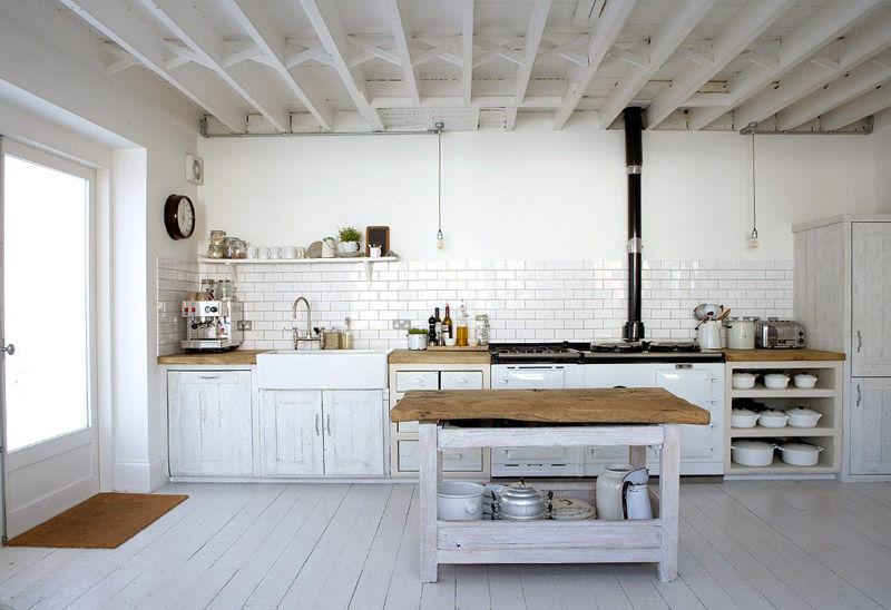 cocinas con encanto en las casas de campo
