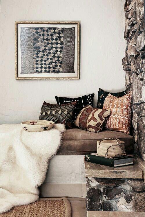 textiles de estilo africano