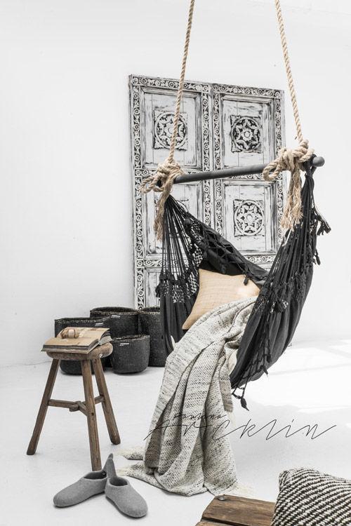 Elementos suspendidos en la decoración nórdica