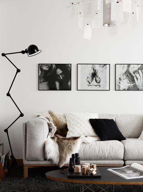 iluminacón en los espacios de estilo nórdico