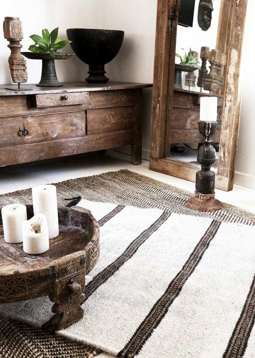 Decoración con muebles indios