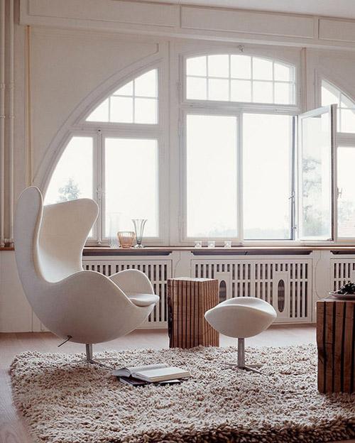 sillón egg: un icono del diseño escandinavo