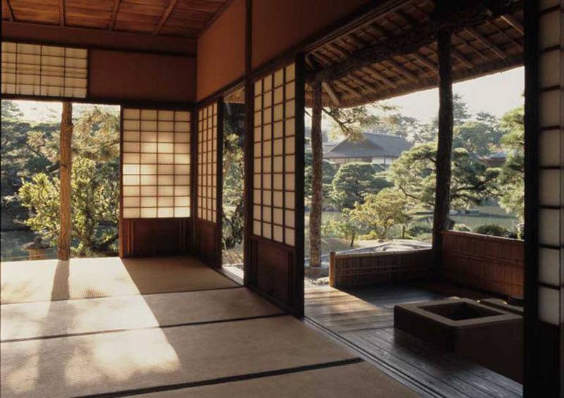 vivienda de estilo tradicional japonés