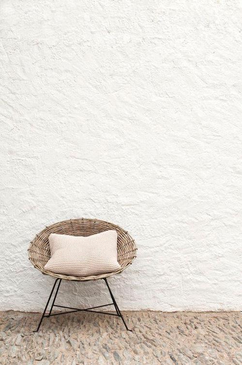 sillas de mimbre para el exterior