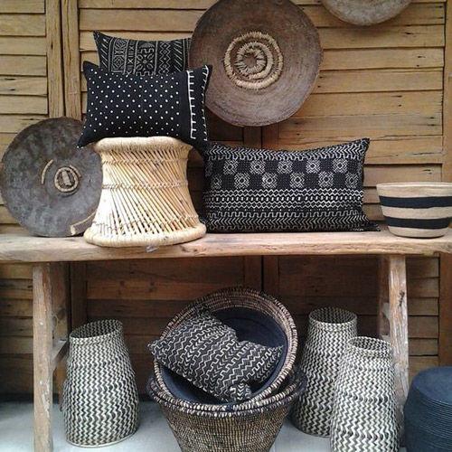 estilo africano en la decoración del hogar