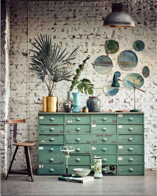 Mueble vintage industrial