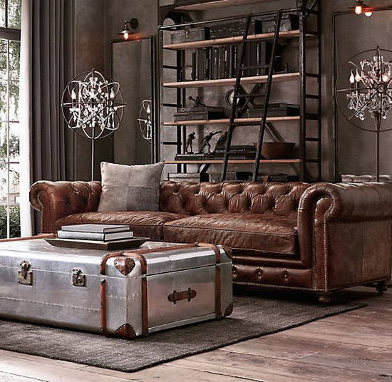 decoraci n industrial los mejores lofts nomadbubbles. Black Bedroom Furniture Sets. Home Design Ideas