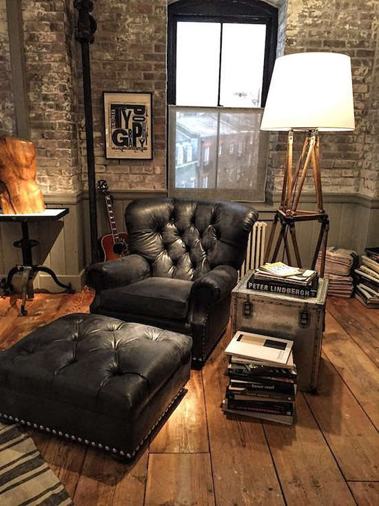 Decoraci n industrial los mejores lofts nomadbubbles for Idea interior muebles