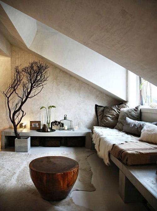 decoración de interiores en tonos beige