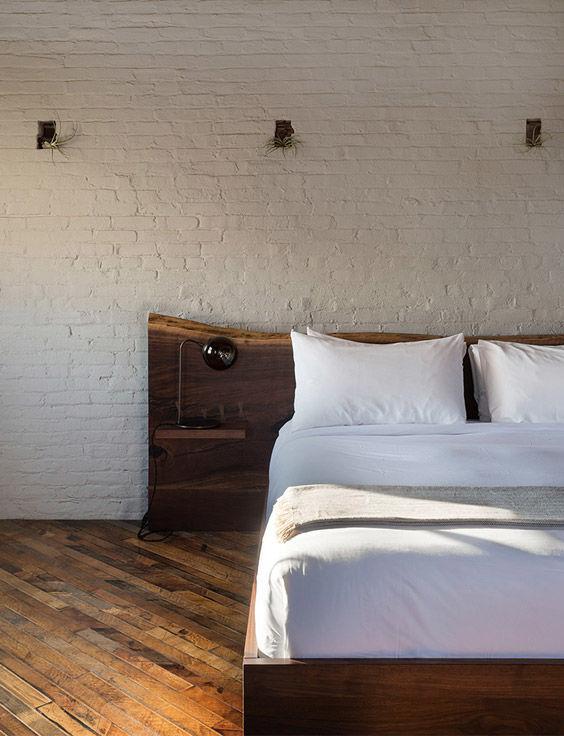 12 cabeceros de cama originales y diferentes nomadbubbles - Cabecero de cama de madera ...