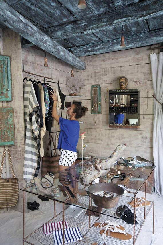 Tienda de ropa y complementos en Tulúm