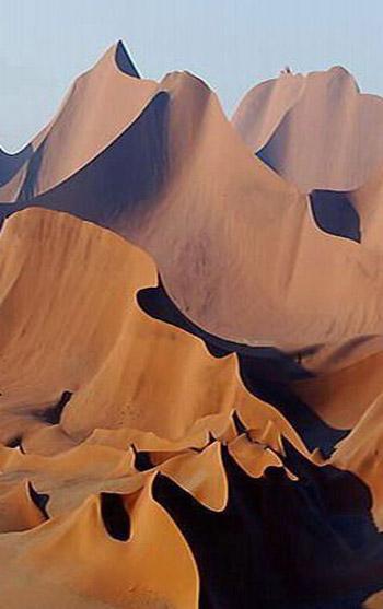 El desierto de Namibia