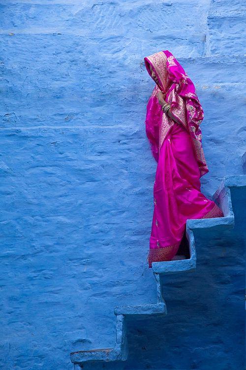Mujer en Jodhpur