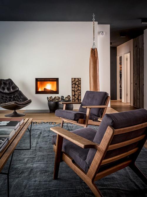 muebles de estilo industrial vintage