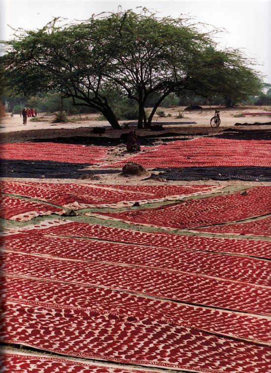 Telas en el Rajasthan