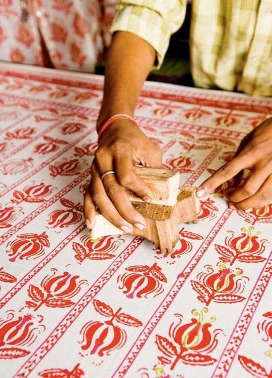 Motivos de las telas indias