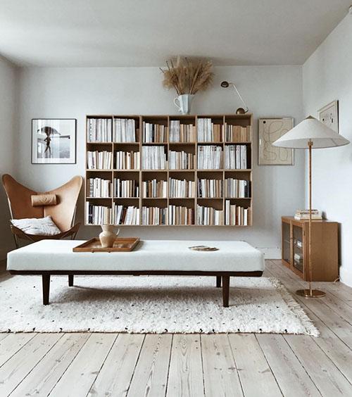 libreria pared