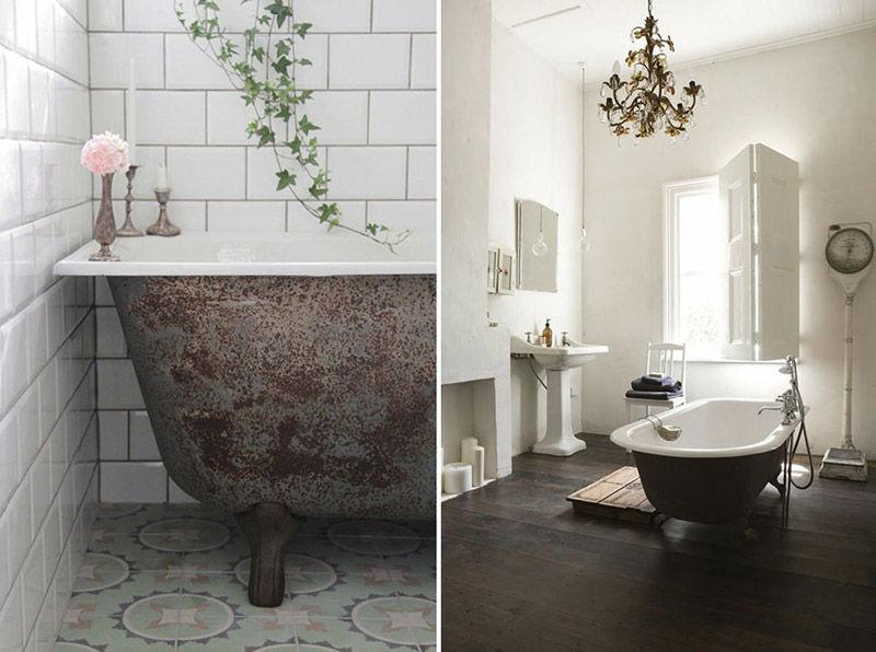 Imágenes de bañeras antiguas con patas