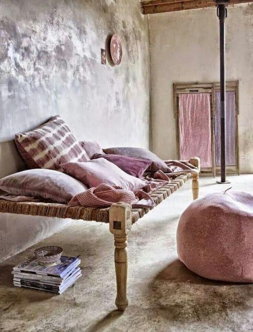 Decoración de espacios con mobiliario indio