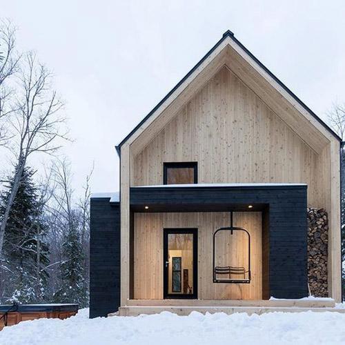 la madera en el diseño de casas escanadinavas