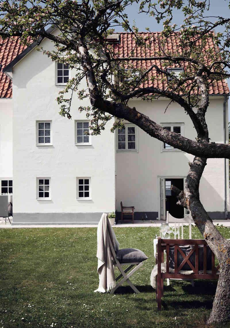 Una casa frente al mar en Suecia