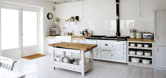 Cocina de estilo y diseño nórdico