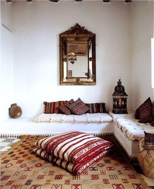 fundas de cojines de inspiración marroquí