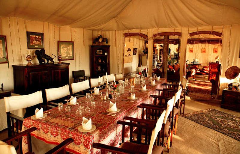 Glamour, aventura y elegancia en medio de la sabana africana