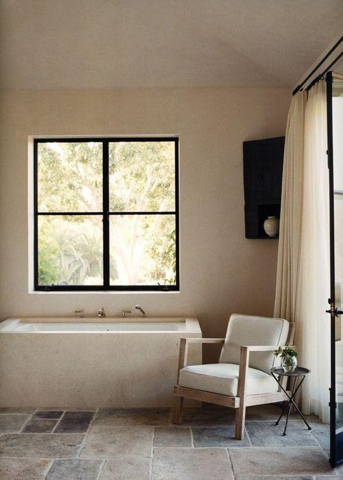 interiores en tonos beige