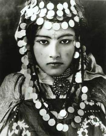 Mujer bereber de Marruecos