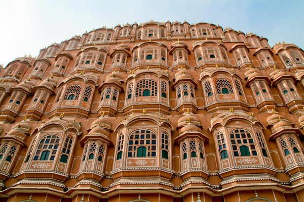 Hawa Mahal o Palacio de los vientos en Jaipur