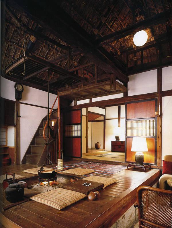 El rattán en la decoración japonesa