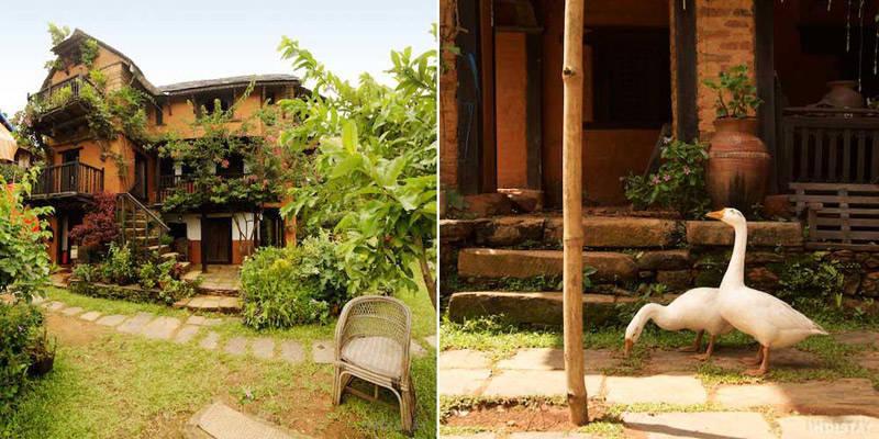 The FamousFarm, uno de los más encantadores hoteles del Nepal.