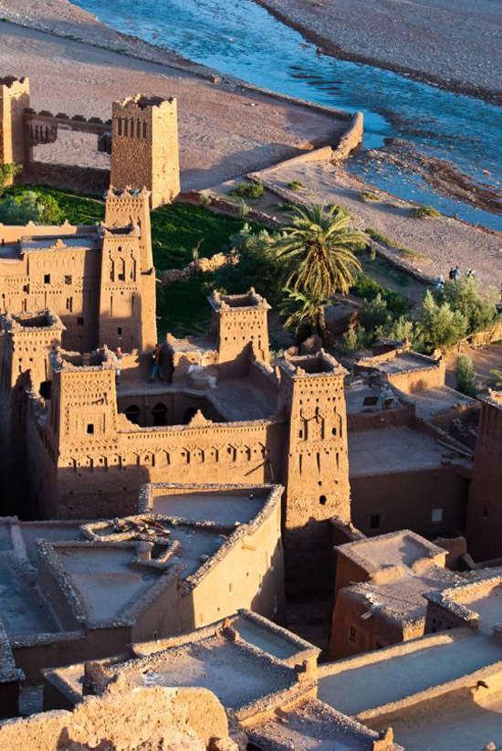 La ciudad de Ait Ben Haddou