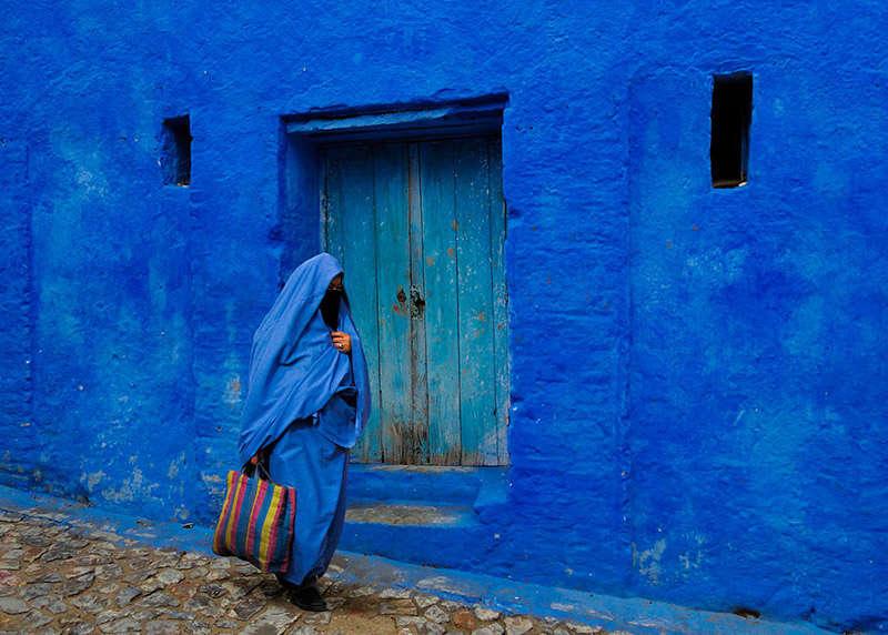 chaouen en marruecos