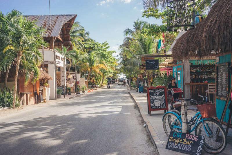 La ciudad de Tulúm en México