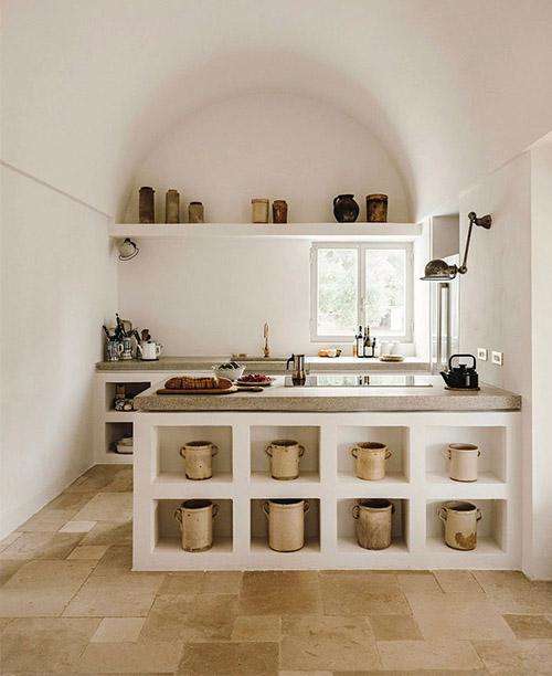 cocina rústica moderan