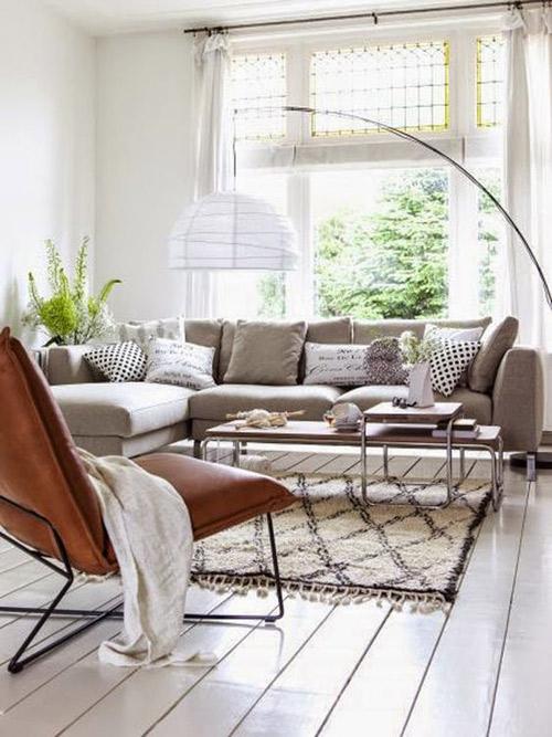 diseño de interiores con alfombras beni ouarain marroquíes