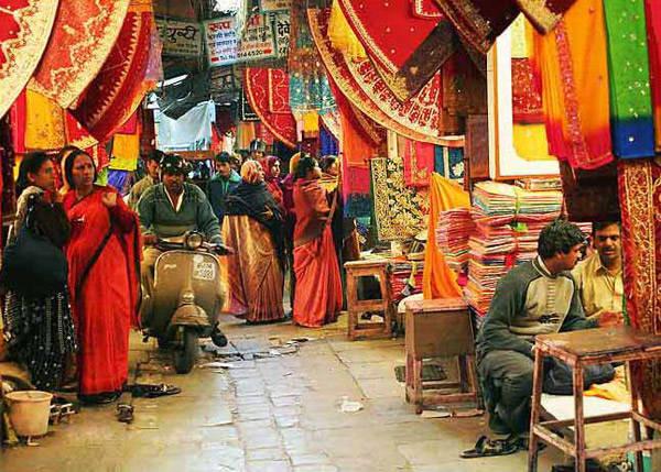Un viaje a la India no puede estar completo sin una visita a los bazares