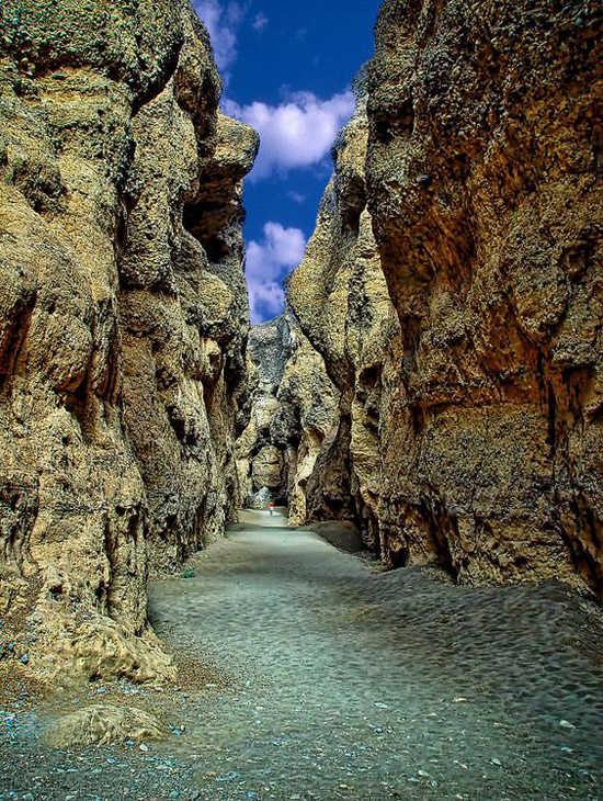 Cañono de Sesriem en el desierto de Namibia