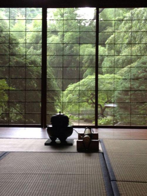 Espacio tradicional japonés
