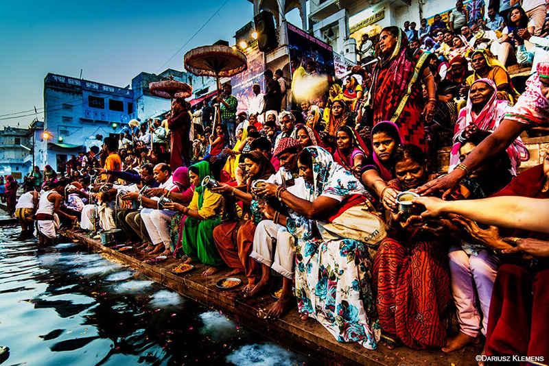 El lago de Pushkar