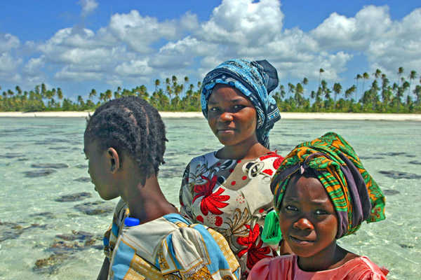 Mujeres swahilis en Zanzíbar