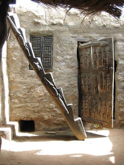 Granero de la tribu Dogón en Mali