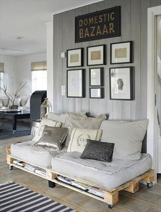 decoracin con muebles de palets