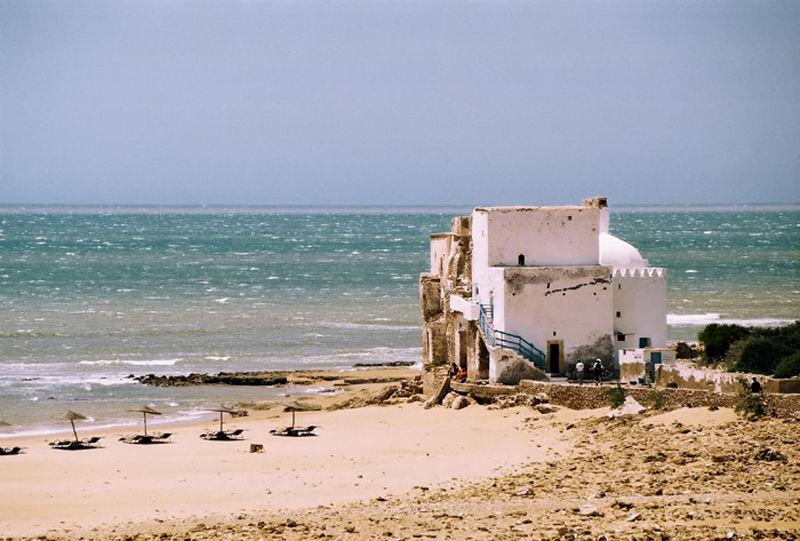 La playa de Sidi Kaouki, muy cerca de Essaouira