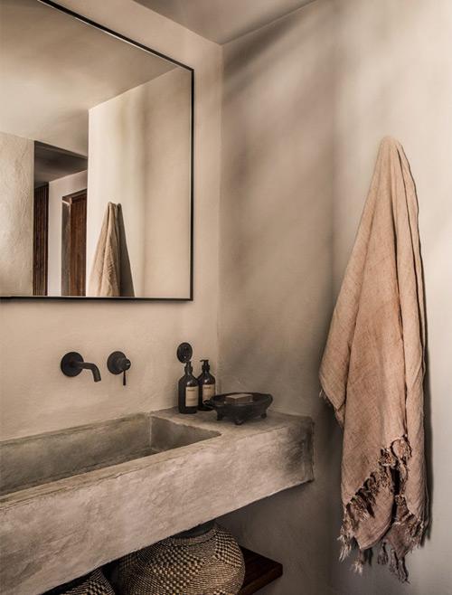 toallas de algodón para el cuarto de baño