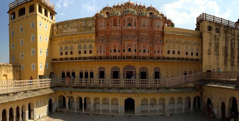 El palacio de los vientos, Hawa Mahal, India